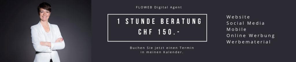 Endlich Ordnung im digitalen Marketing mit 1 Stunde Beratung für CHF 150.-.