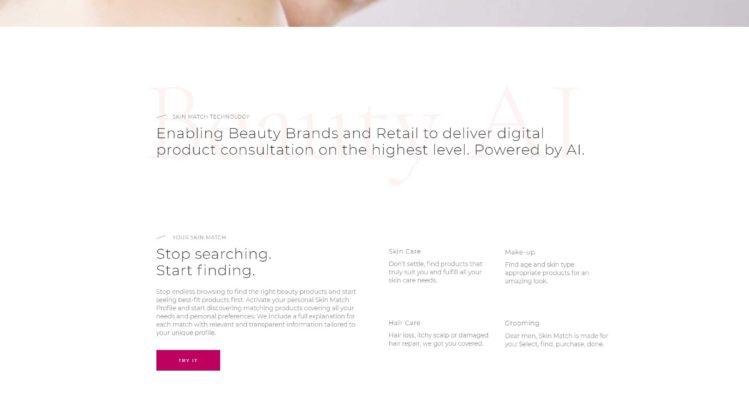 Skin Match Technology Homepage