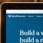Computer mit Wordpress darauf