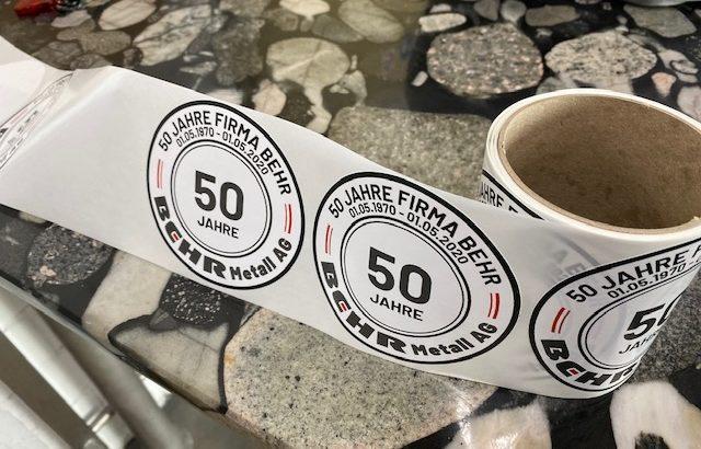 Kleber 50 Jahre Behr Metall
